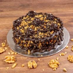 CHOCOLATE WALLNUT CAKE 1/2KG