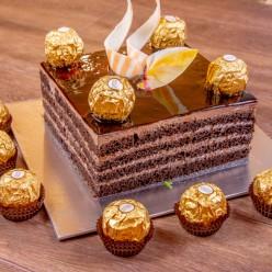 CHOCOLATE ROCHER CAKE 1/2KG