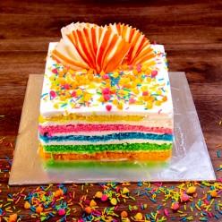 RAINBOW CAKE 1/2KG