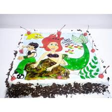 BLACKFOREST CARTOON CHARACTER CAKE