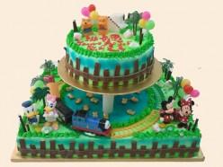 CARTOON CHARACTER CAKES