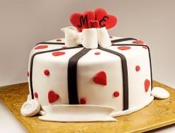 CHOCOLATE TRUFFLE ANNIVERSARY CAKE