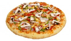 CORN PIZZA (CORN & MIX VEG)