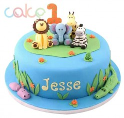MIX FRUIT CAKE CARTOON CHARACTER
