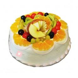 MIX FRUIT CARTOON CHARACTER CAKE