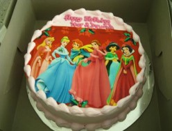 RAINBOW PHOTO CAKE