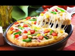 VEGGIE PIZZA (ONION, CAPSICUM, TOMATO)